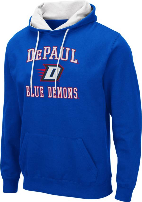 Colosseum Men's DePaul Blue Demons Royal Blue Pullover Hoodie product image