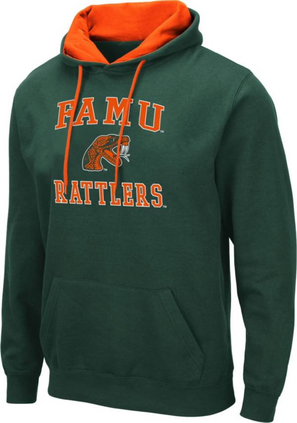 Colosseum Men's Florida A&M Rattlers Green Pullover Hoodie product image