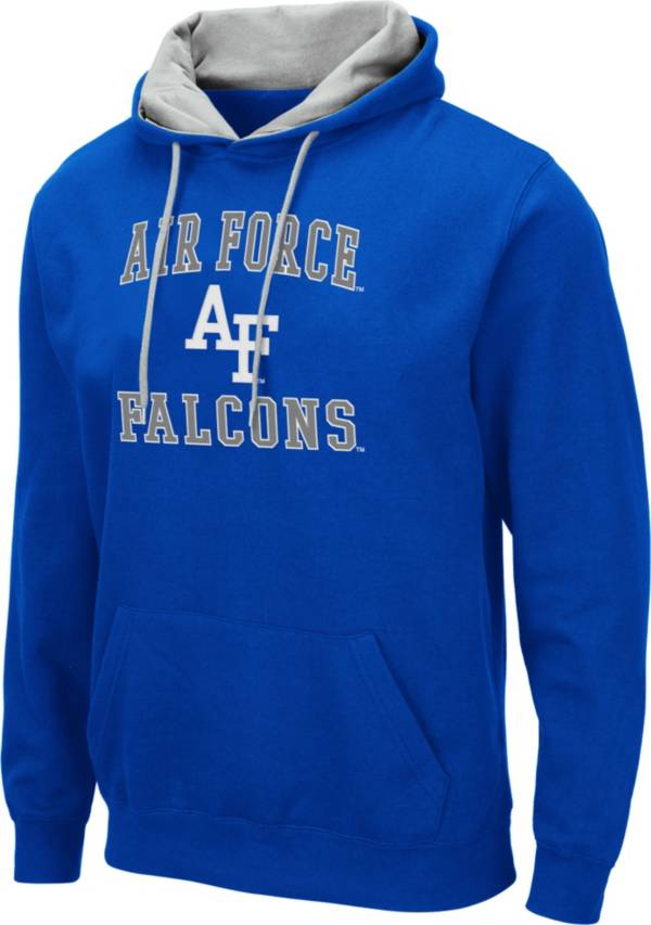 Colosseum Men's Air Force Falcons Blue Pullover Hoodie product image