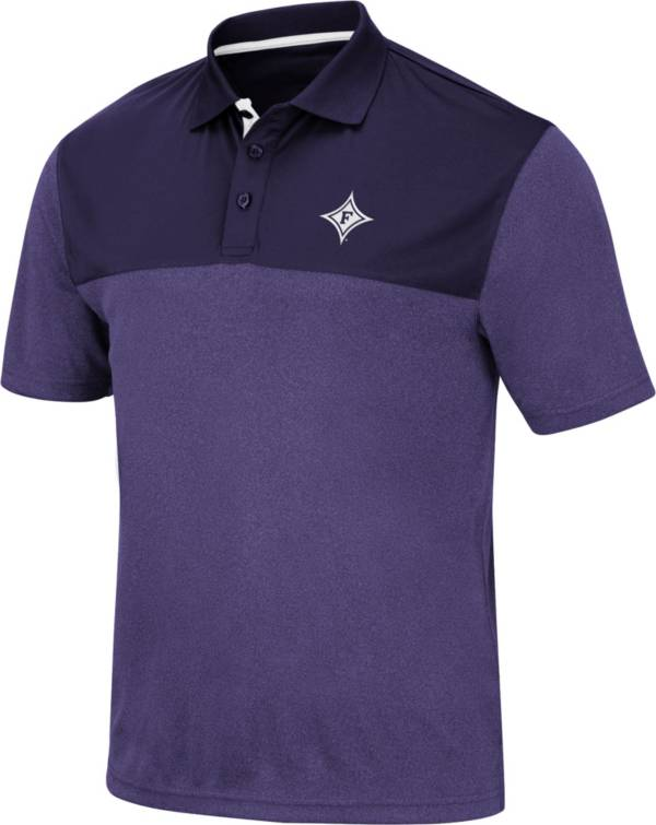 Colosseum Men's Furman Paladins Purple Links Polo product image