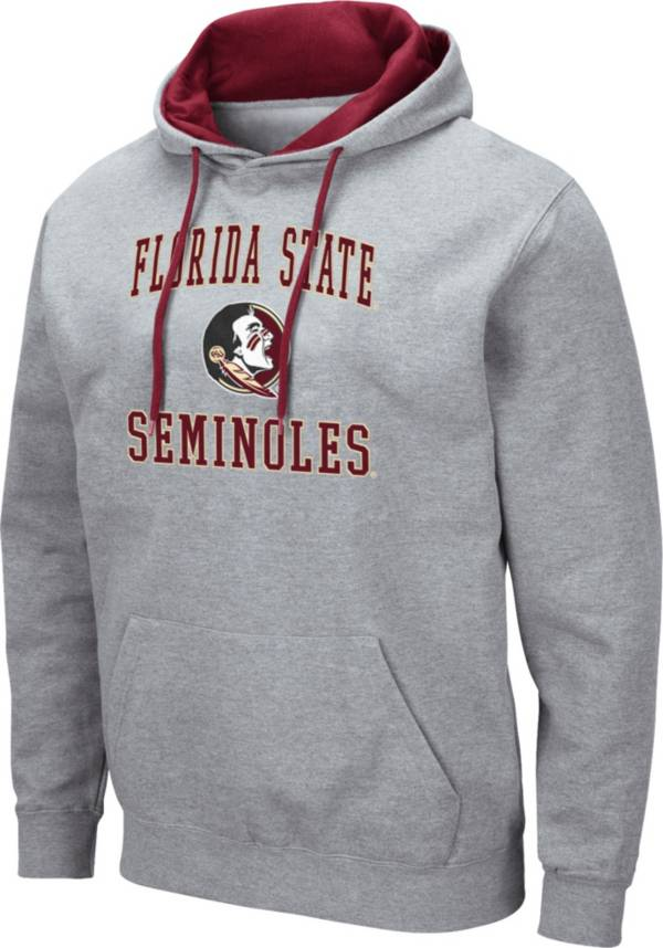 Colosseum Men's Florida State Seminoles Grey Pullover Hoodie product image