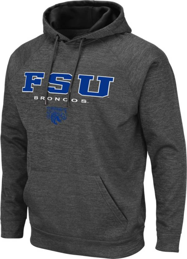 Colosseum Men's Fayetteville State Broncos Grey Pullover Hoodie product image