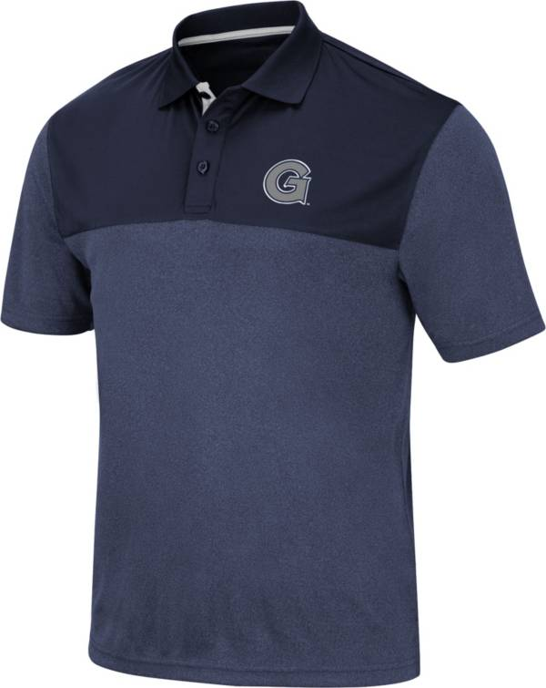 Colosseum Men's Georgetown Hoyas Blue Links Polo product image