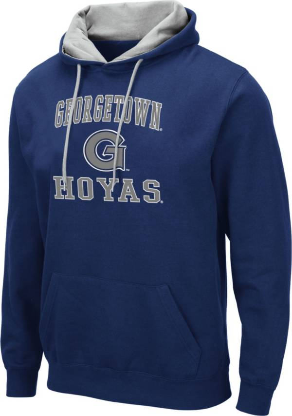 Colosseum Men's Georgetown Hoyas Blue Pullover Hoodie product image