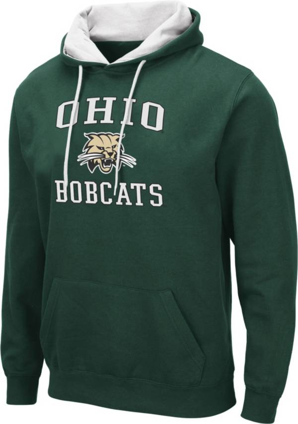 Colosseum Men's Ohio Bobcats Green Pullover Hoodie product image