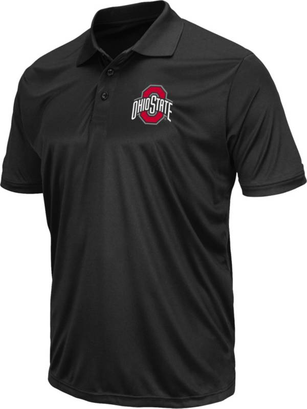 Colosseum Men's Ohio State Buckeyes Black Polo product image