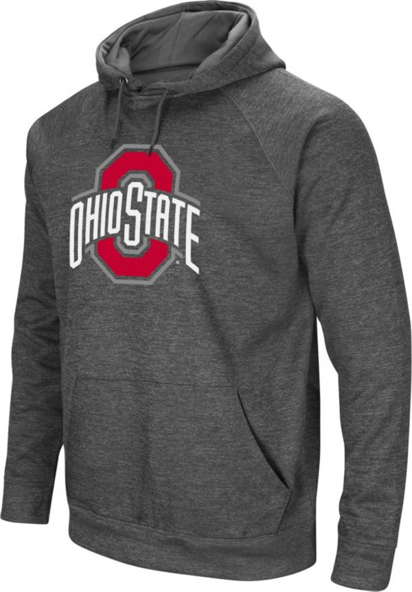Colosseum Men's Ohio State Buckeyes Gray Pullover Hoodie product image