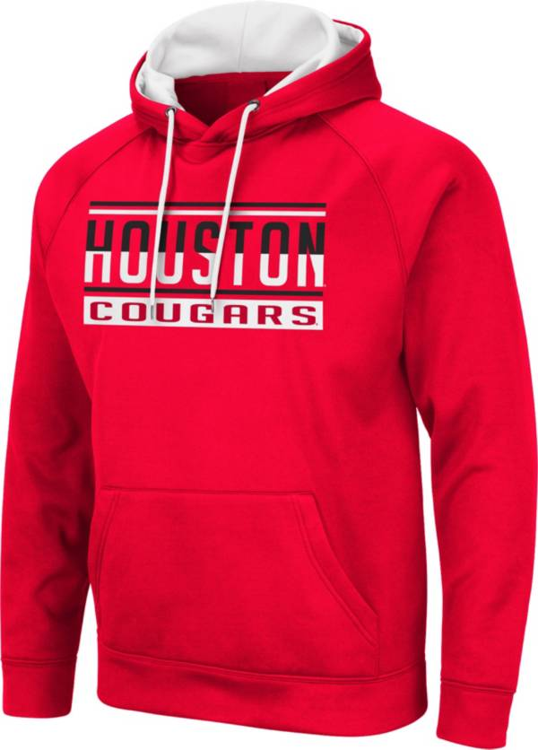 Colosseum Men's Houston Cougars Red Pullover Hoodie product image