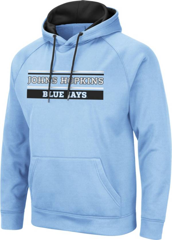 Colosseum Men's Johns Hopkins Blue Jays Columbia Blue Pullover Hoodie product image