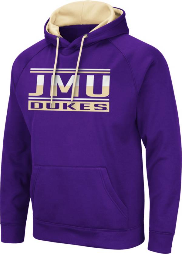 Colosseum Men's James Madison Dukes Purple Pullover Hoodie product image