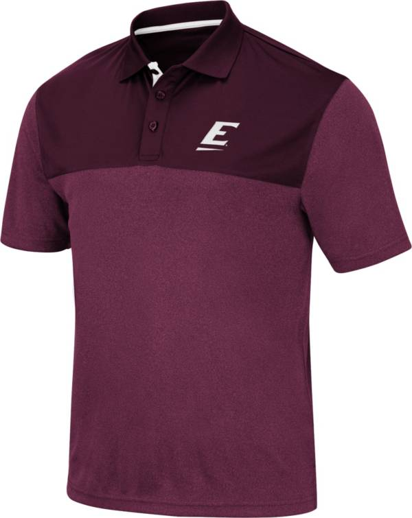 Colosseum Men's Eastern Kentucky Colonels Maroon Links Polo product image