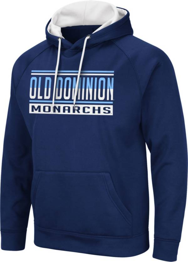 Colosseum Men's Old Dominion Monarchs Blue Pullover Hoodie product image