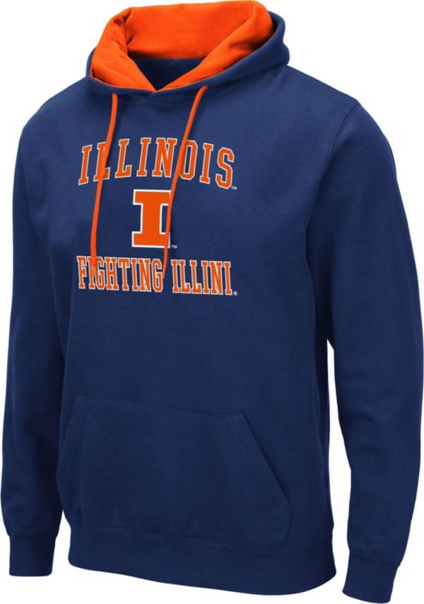 Colosseum Men's Illinois Fighting Illini Blue Pullover Hoodie product image