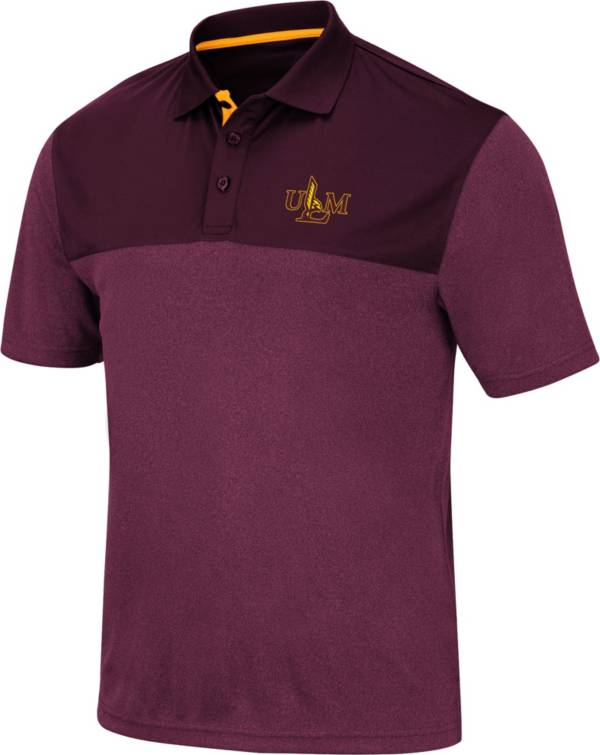 Colosseum Men's Louisiana-Monroe Warhawks Maroon Links Polo product image