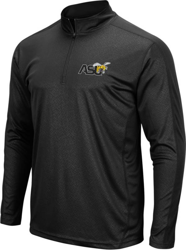 Colosseum Men's ASU Hornets Black Quarter-Zip Pullover product image