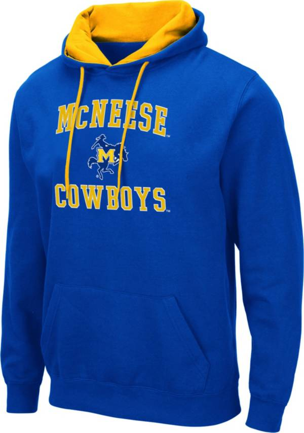 Colosseum Men's McNeese State Cowboys Royal Blue Pullover Hoodie product image