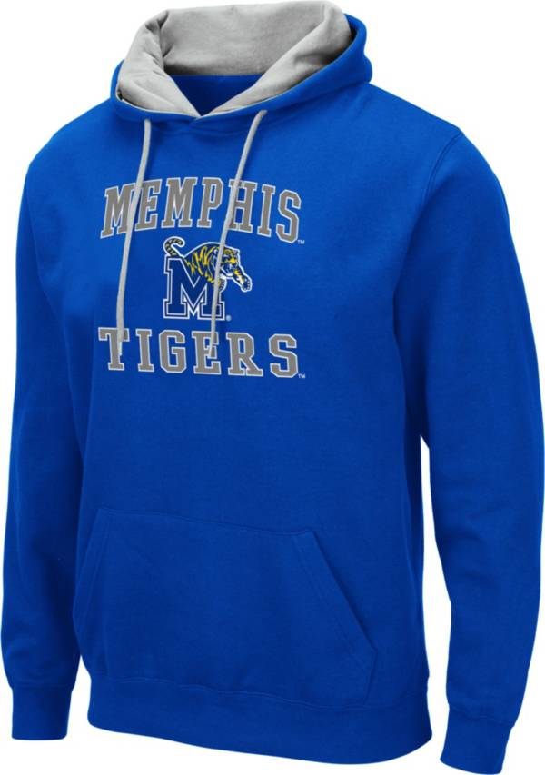 Colosseum Men's Memphis Tigers Blue Pullover Hoodie product image