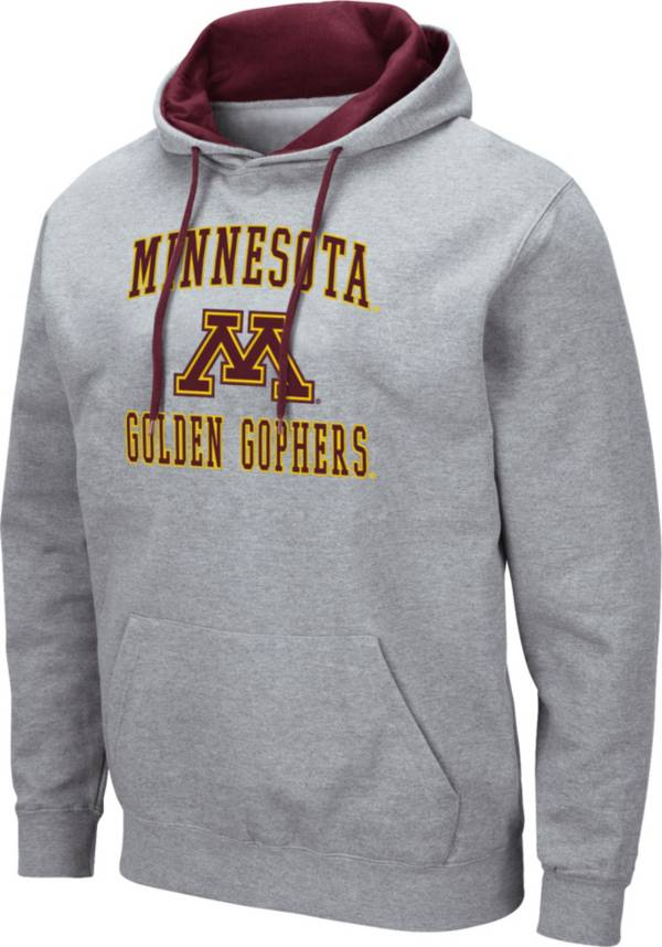 Colosseum Men's Minnesota Golden Gophers Grey Pullover Hoodie product image