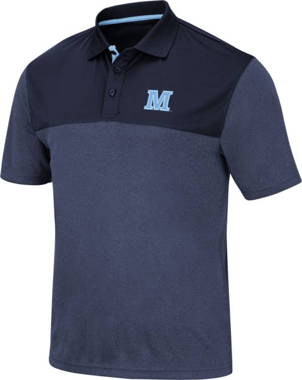 Colosseum Men's Maine Black Bears Blue Links Polo product image