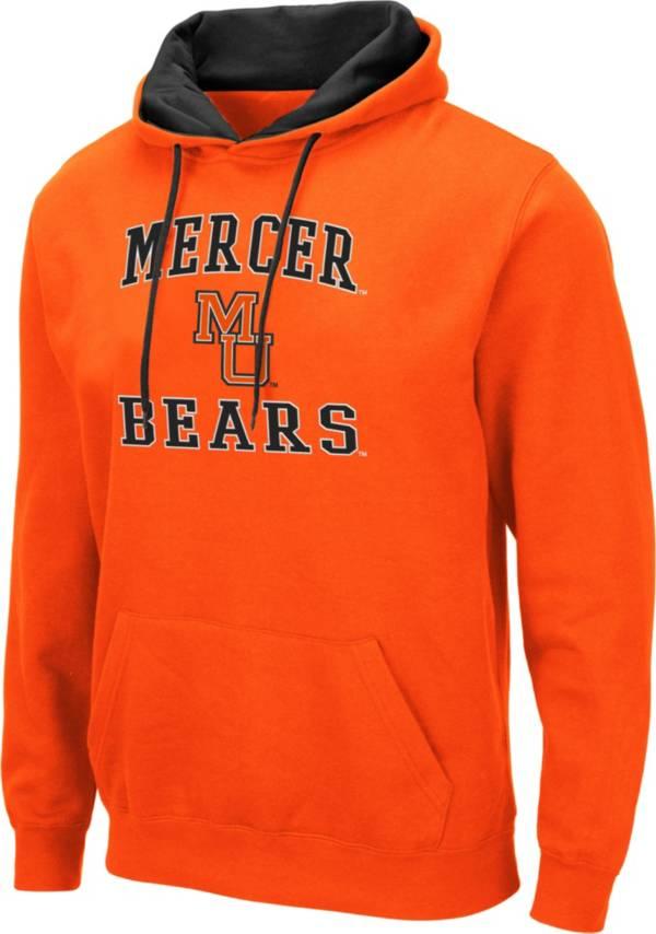 Colosseum Men's Mercer Bears Orange Pullover Hoodie product image