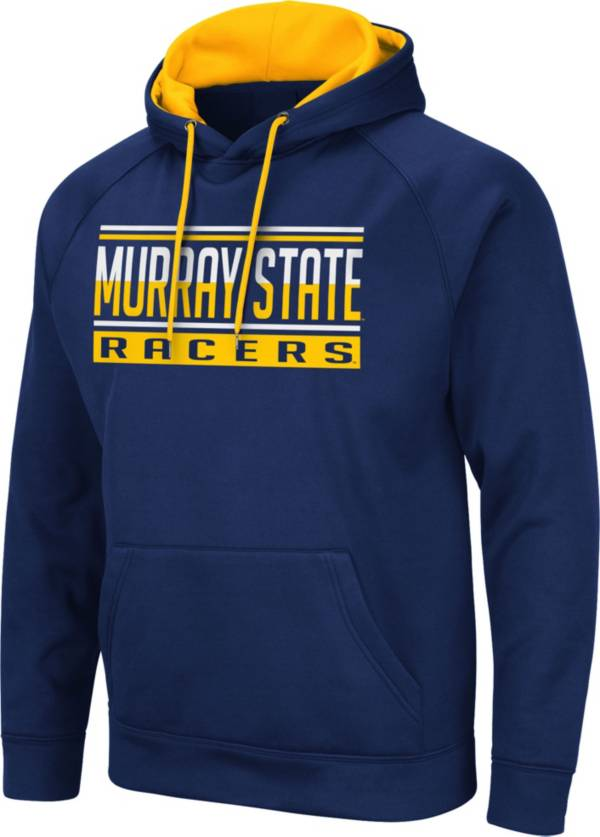 Colosseum Men's Murray State Racers Navy Blue Pullover Hoodie product image