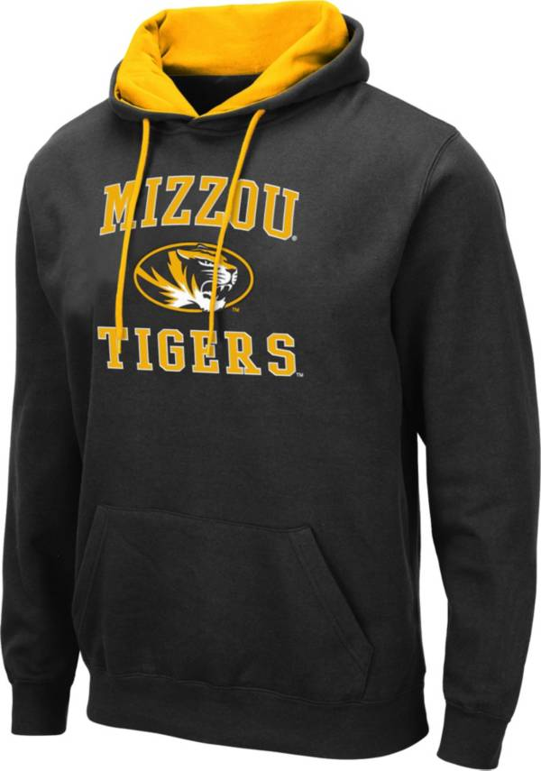 Colosseum Men's Missouri Tigers Pullover Black Hoodie product image
