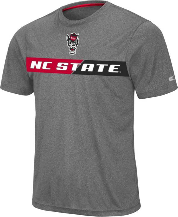 Colosseum Men's NC State Wolfpack Grey Bait T-Shirt product image