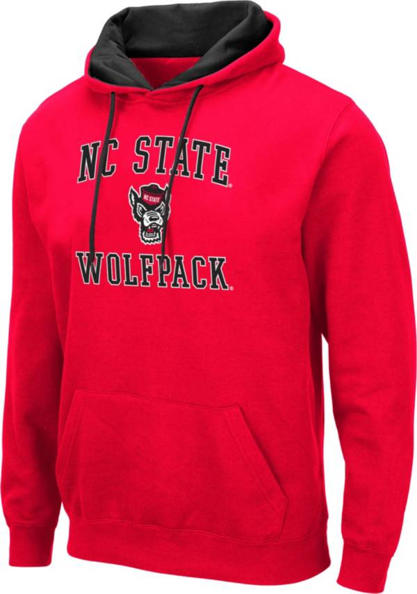 Colosseum Men's NC State Wolfpack Red Pullover Hoodie product image