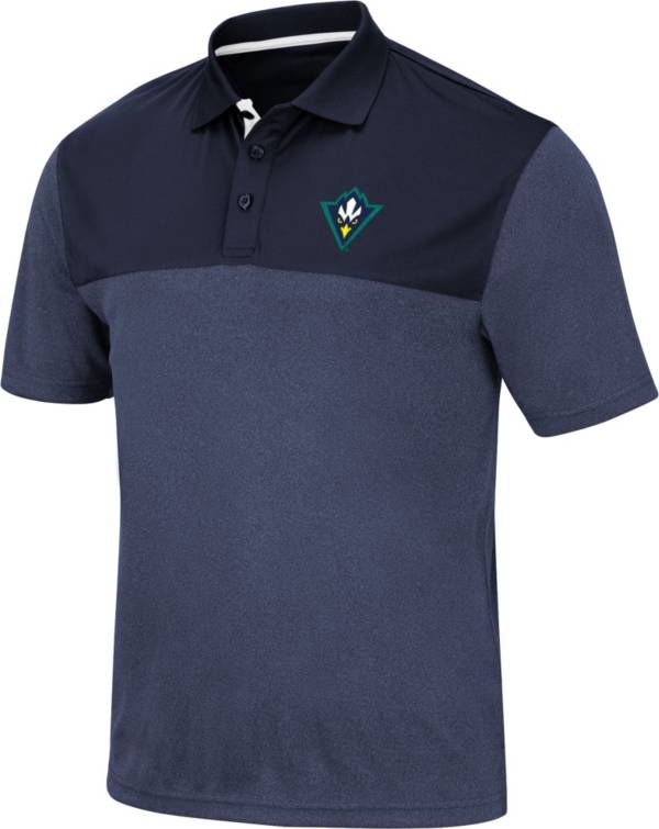 Colosseum Men's UNC-Wilmington  Seahawks Navy Links Polo product image