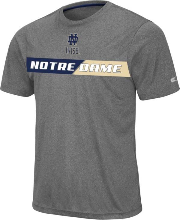 Colosseum Men's Notre Dame Fighting Irish Grey Bait T-Shirt product image