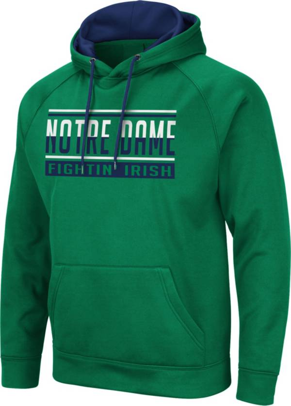 Colosseum Men's Notre Dame Fighting Irish Green Pullover Hoodie product image