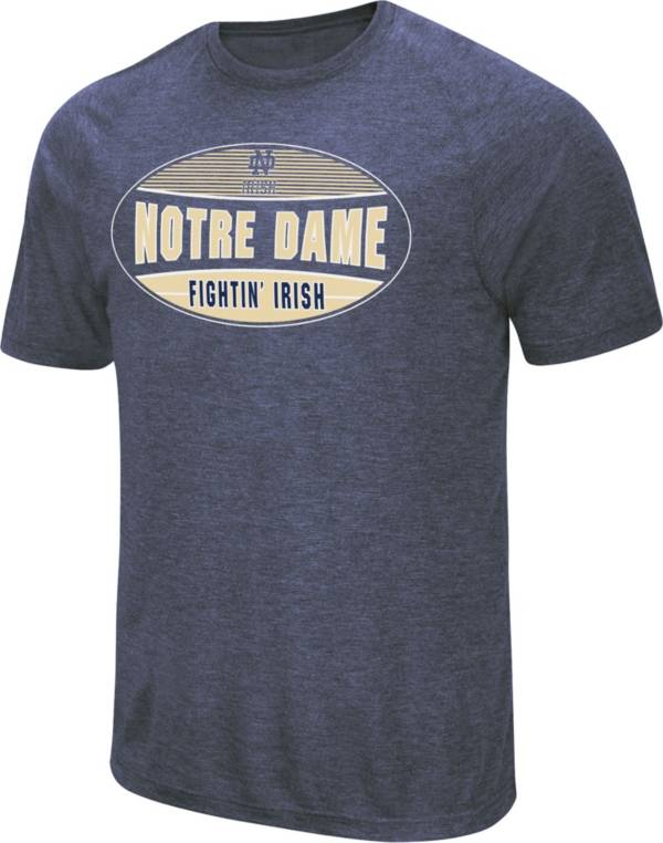 Colosseum Men's Notre Dame Fighting Irish Navy Jenkins T-Shirt product image