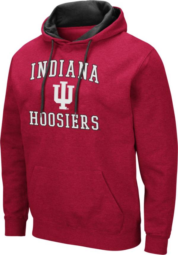 Colosseum Men's Indiana Hoosiers Crimson Pullover Hoodie product image