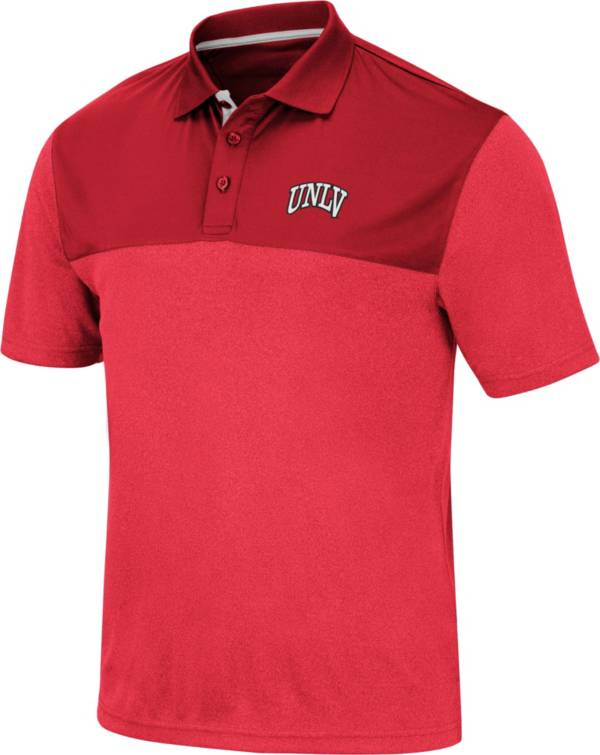 Colosseum Men's UNLV Rebels Scarlet Links Polo product image