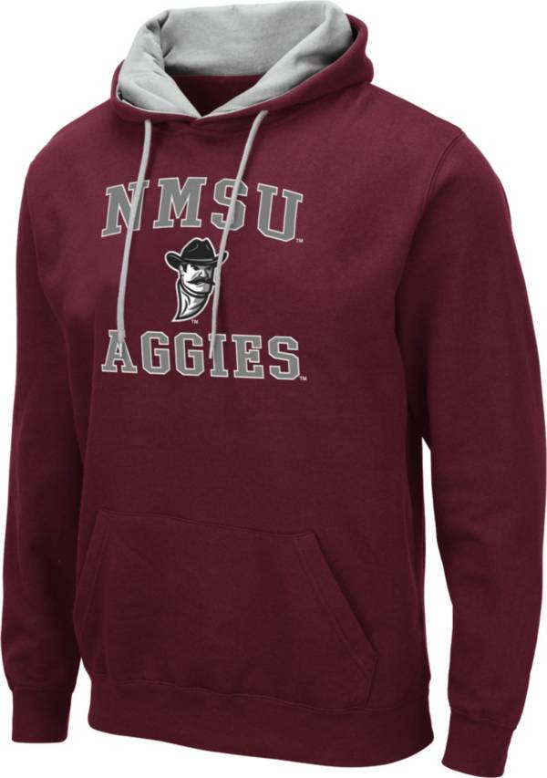 Colosseum Men's New Mexico State Aggies Crimson Pullover Hoodie product image