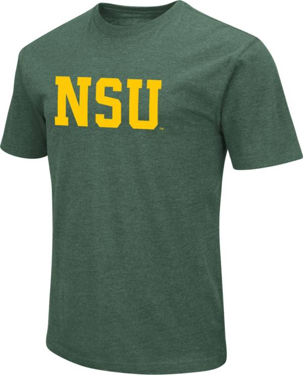 Colosseum Men's Norfolk State Spartans Green T-Shirt product image
