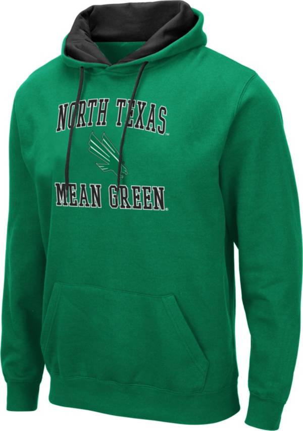 Colosseum Men's North Texas Mean Green Green Pullover Hoodie product image
