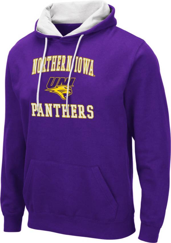 Colosseum Men's Northern Iowa Panthers  Purple Pullover Hoodie product image