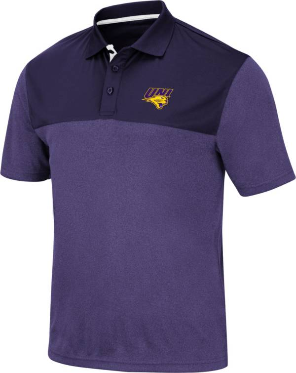 Colosseum Men's Northern Iowa Panthers  Purple Links Polo product image