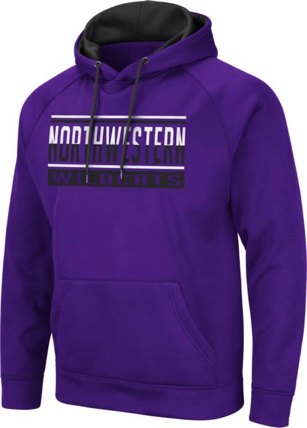 Colosseum Men's Northwestern Wildcats Purple Pullover Hoodie product image