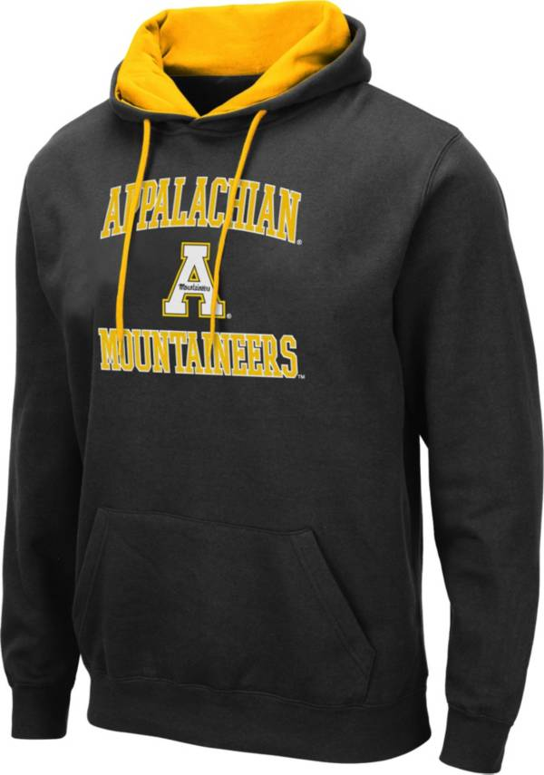 Colosseum Men's Appalachian State Mountaineers Pullover Black Hoodie product image