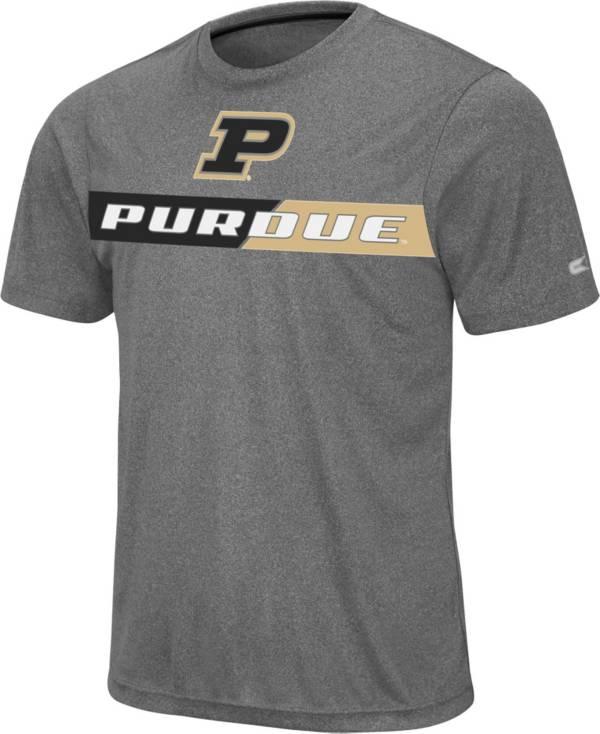 Colosseum Men's Purdue Boilermakers Grey Bait T-Shirt product image