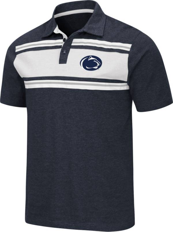 Colosseum Men's Penn State Nittany Lions Blue Doppelganger Polo product image