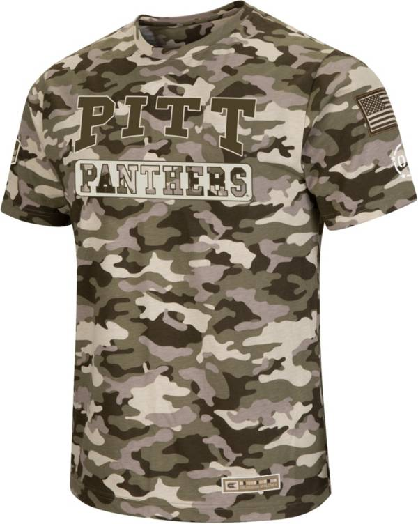 Colosseum Men's Pittsburgh Panthers Camo OHT Terrain T-Shirt product image