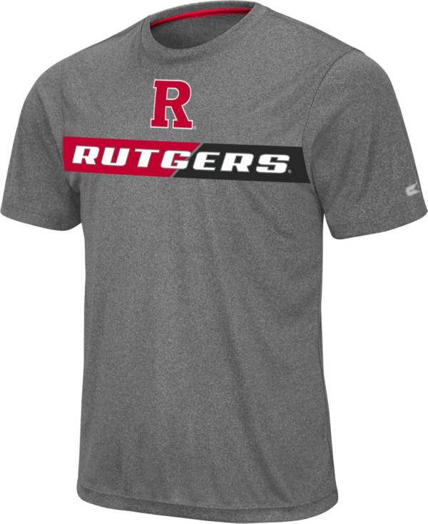 Colosseum Men's Rutgers Scarlet Knights Grey Bait T-Shirt product image