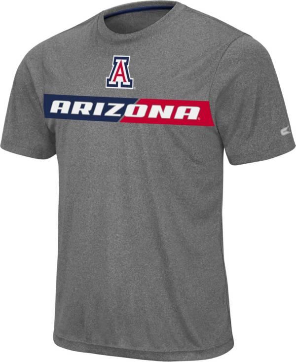 Colosseum Men's Arizona Wildcats Grey Bait T-Shirt product image