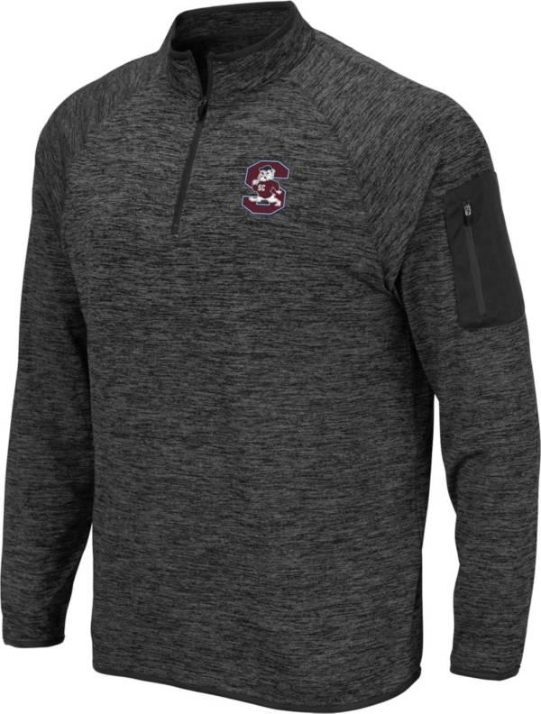 Colosseum Men's South Carolina State Bulldogs Grey Quarter-Zip Pullover product image