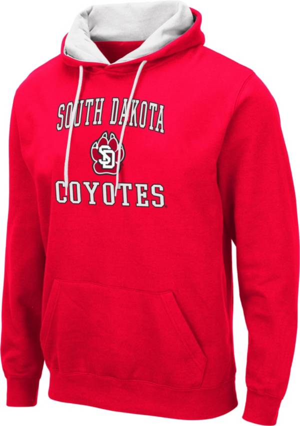 Colosseum Men's South Dakota Coyotes Red Pullover Hoodie product image