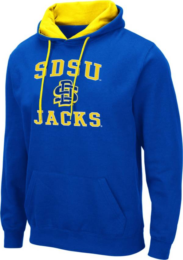 Colosseum Men's South Dakota State Jackrabbits Blue Pullover Hoodie product image