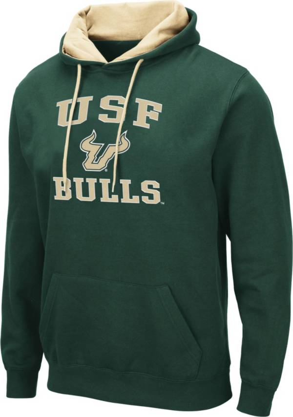 Colosseum Men's South Florida Bulls Green Pullover Hoodie product image